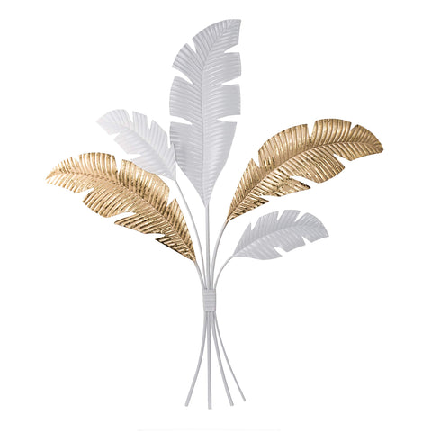 28x32 Suvi Feather Bouquet Wall Art