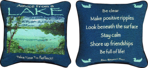 MWW Advice from Throw Lake Ytn 12 Pillow Each