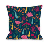 Paige - Multi Throw Pillow by OBC 18 X 18