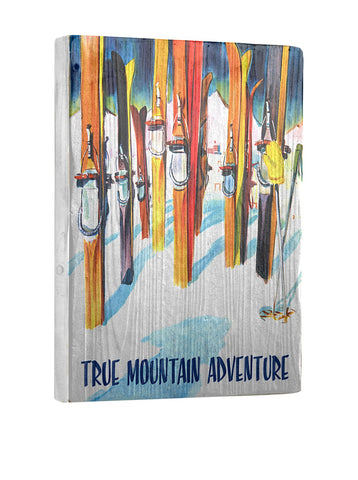 Artehouse True Mountain Adventure-Winter Park Reclaimed Wood Sign