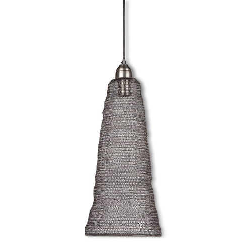 The Gerson Company Weave Large Cone Pendant Lamp