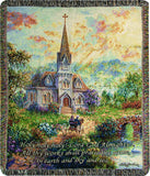 MWW Holy Holy Holy Nbo 50X60 Tapestry Throw Each