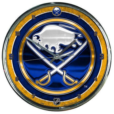 NHL Chrome Clock, 12