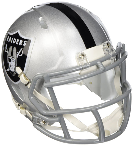 Riddell Oakland Raiders NFL Replica Speed Mini Football Helmet