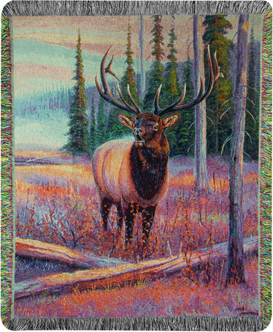MWW Meadowsong Jim 50X60 Tapestry Throw Each