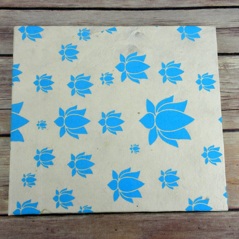 Global Craft Lotus Journal, Large Turquoise - Global Groove (S)