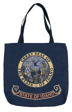 Simply Flag of Idaho Tapestry Tote