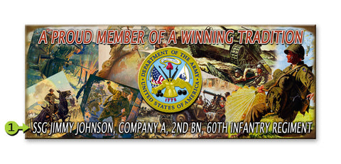 Proud Member of a Winning Tradition Wood 17x44
