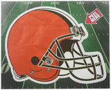 NFL Cleveland Browns Diecut Window Film, Orange