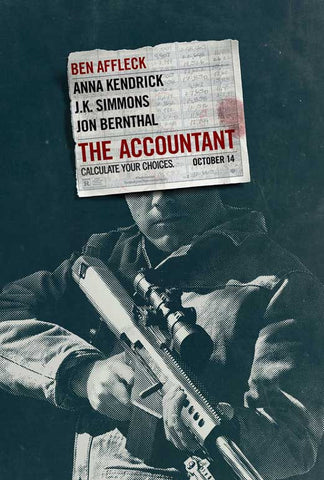 The Accountant 11 x 17 Movie Poster - Style A