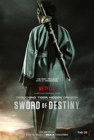 Crouching Tiger Hidden Dragon: Sword of Destiny 11 x 17 Movie Poster - Style A