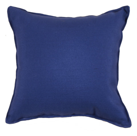 Coast Royalty Blue Outdoor Pillow