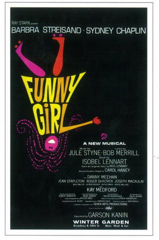 Funny Girl (Broadway) 11 x 17 Poster - Style A