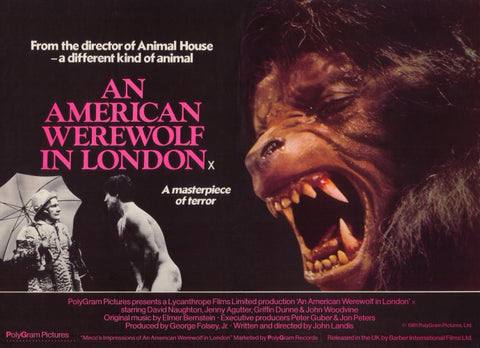 An American Werewolf in London 11 x 14 Movie Poster - Style A