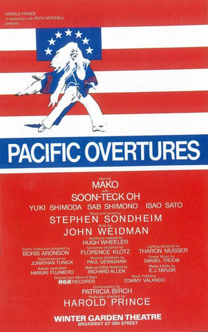 Pacific Overtures (Broadway) 11 x 17 Poster - Style A