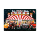 Circus Drive In Metal Sign Wall Decor 36 x 24