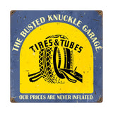 Tire Shop Metal Sign Wall Decor 12 x 12