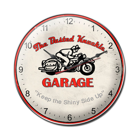 Vintage Motorcycle Metal Sign Wall Decor 14 x 14