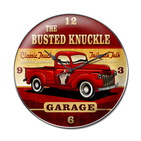 Old Truck Metal Sign Wall Decor 14 x 14