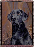 Tapestry - Black Lab Throw