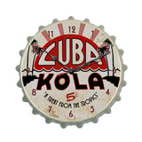 Cuba Kola Metal Sign Wall Decor 16 x 16
