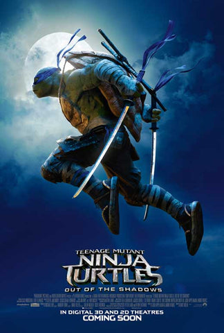 Teenage Mutant Ninja Turtles: Out of the Shadows 11 x 17 Movie Poster - Style E