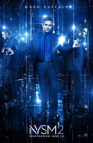 Now You See Me 2 11 x 17 Movie Poster - Style E