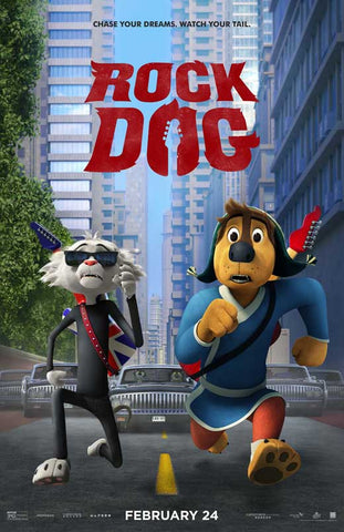Rock Dog 11 x 17 Movie Poster - Style B