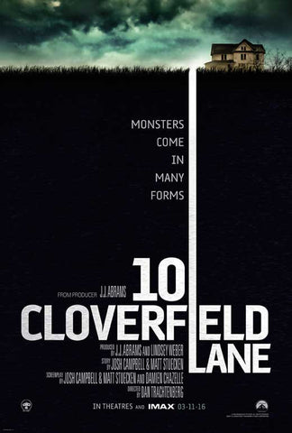 10 Cloverfield Lane 27 x 40 Movie Poster - Canadian Style A