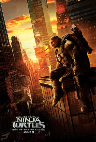 Teenage Mutant Ninja Turtles: Out of the Shadows 11 x 17 Movie Poster - Style C