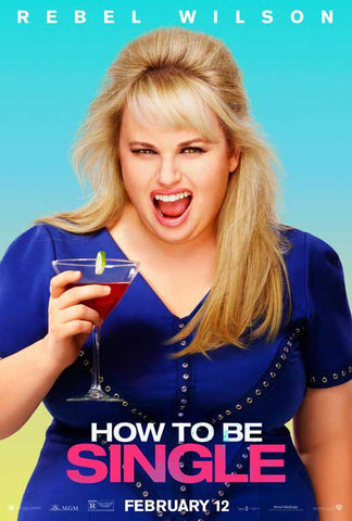 How to be Single 27 x 40 Movie Poster - Style B