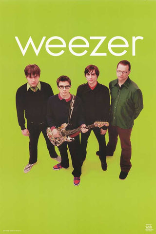 Weezer Music Poster - 24 x 36 - Style C