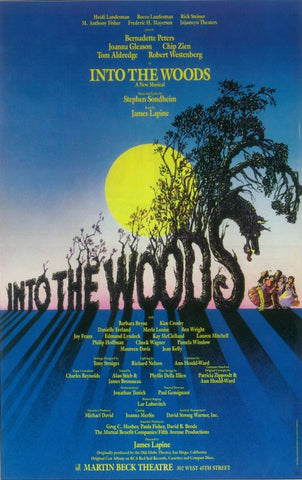 Into the Woods (Broadway) 14 x 22 Poster - Style A