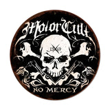 No Mercy Metal Sign Wall Decor 14 x 14
