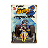 Prudhomme The Snake Metal Sign Wall Decor 12 x 18
