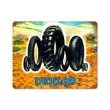 Tire Family Metal Sign Wall Decor 15 x 12