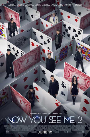 Now You See Me 2 27 x 40 Movie Poster - Style M