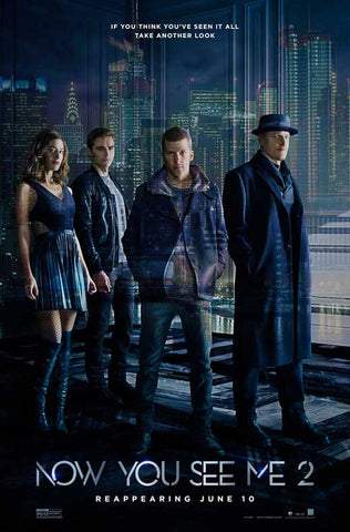 Now You See Me 2 11 x 17 Movie Poster - Style L