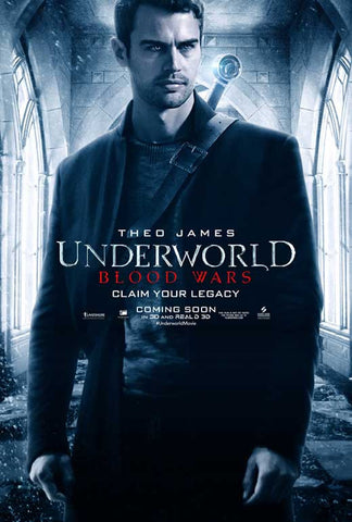 Underworld: Blood Wars 27 x 40 Movie Poster - Style G