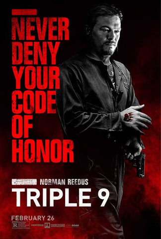 Triple 9 27 x 40 Movie Poster - Style A