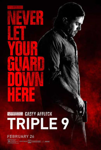 Triple 9 27 x 40 Movie Poster - Style F