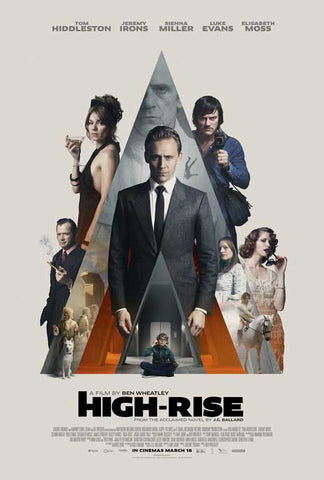 High Rise 11 x 17 Movie Poster - UK Style B