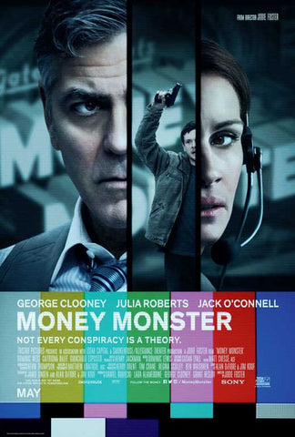 Money Monster 27 x 40 Movie Poster - Style D