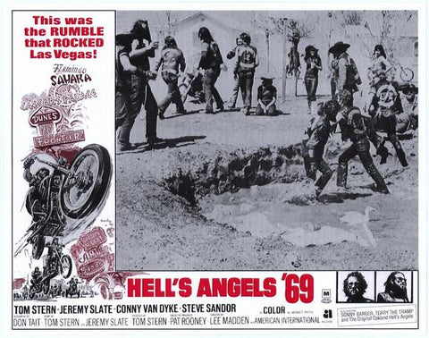 Hell's Angels '69 11 x 14 Movie Poster - Style A