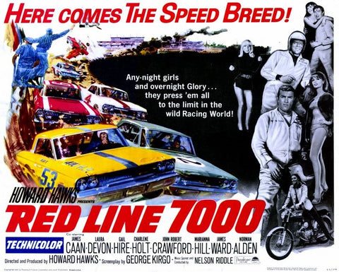 Red Line 7000 11 x 14 Movie Poster - Style A