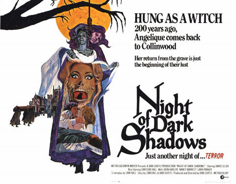 Night of Dark Shadows 11 x 14 Movie Poster - Style A