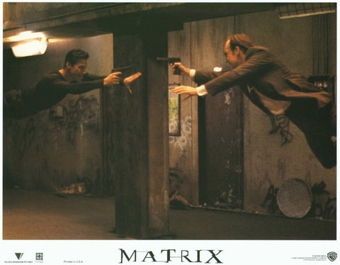 The Matrix 11 x 14 Movie Poster - Style C