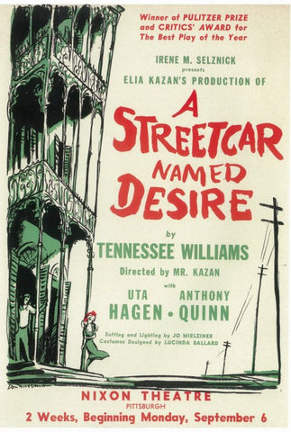 A Streetcar Named Desire (Broadway) 11 x 17 Poster - Style A