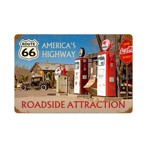 Americas Highway Metal Sign Wall Decor 12 x 18