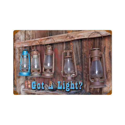 Got Laterns Metal Sign Wall Decor 12 x 18